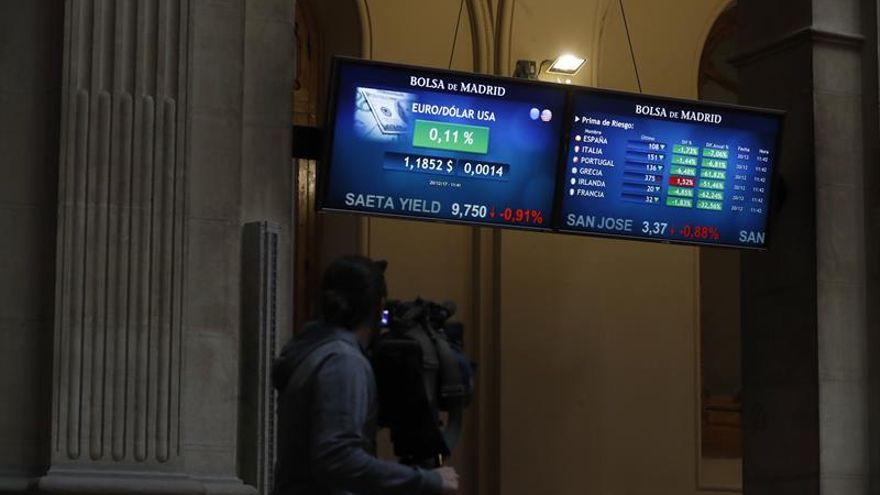 La prima de riesgo española abre estable, en 107 puntos básicos