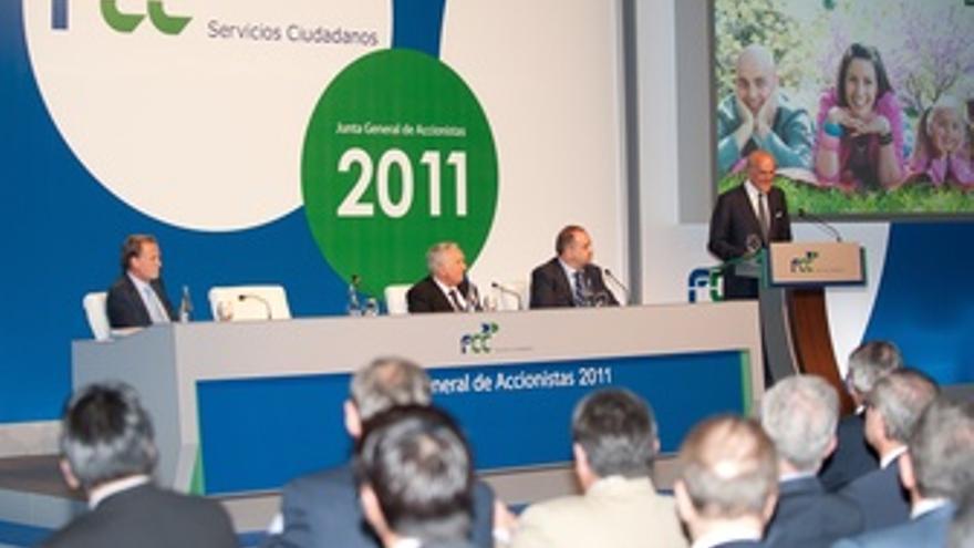 Junta De Accionistas De FCC De 2011
