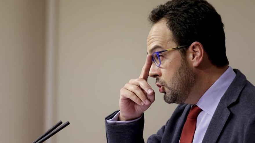El PSOE sólo hablará del techo de gasto con el Gobierno porque afecta a las CCAA