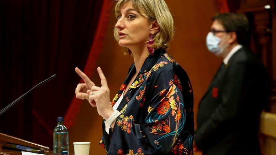 La consellera de Salud de la Generalitat de Cataluña, Alba Vergès .