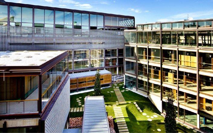 Edificio que albergará la Escuela Municipal de Música (a la izquierda, en la esquina inferior) | COAM