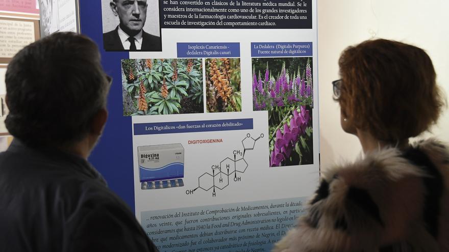 Exposición El compromiso científico de Negrín,