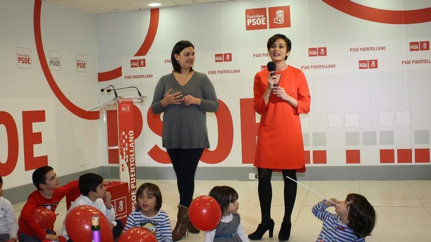 Isabel Rodríguez, cierre de campaña en Ciudad Real