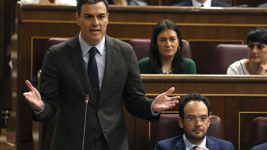 """Pedro Sánchez asegura que """"el PSOE tiene la determinación de gobernar el cambio"""""""