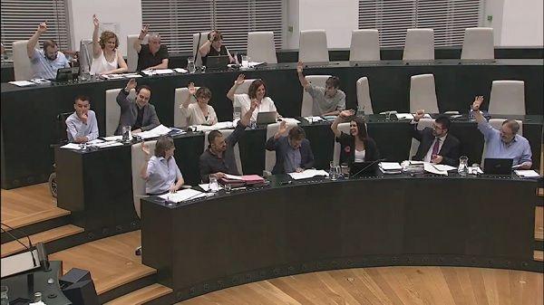 Votación de la aprobación del Plan Especial del COAM |♦ Ayuntamiento de Madrid