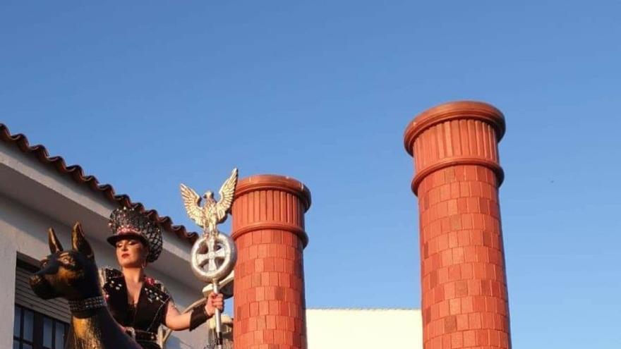 Comparsa 'Holocausto' en Campo de Criptana (Ciudad Real)