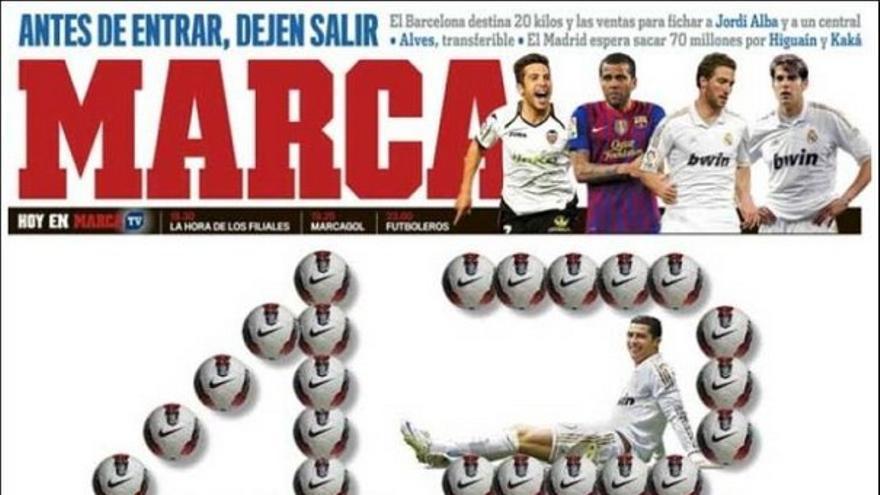 De las portadas del día (01/05/2012) #13