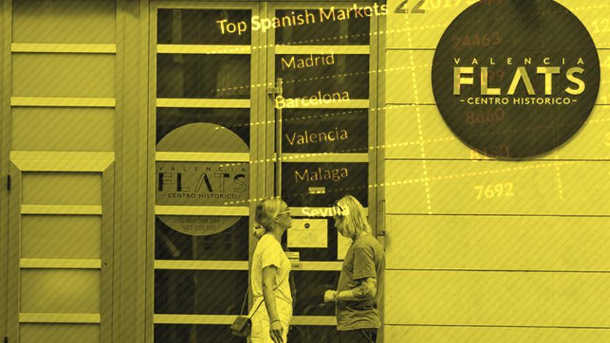 El alquiler vacacional en Madrid crece un 12% en 2019 y supera al de Barcelona, que baja un 4%