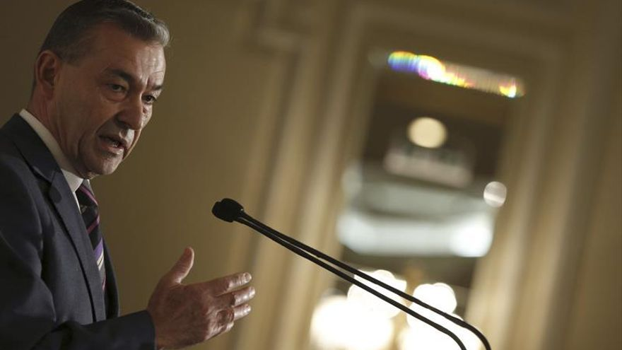 Paulino Rivero, presidente del Gobierno de Canarias. Efe.