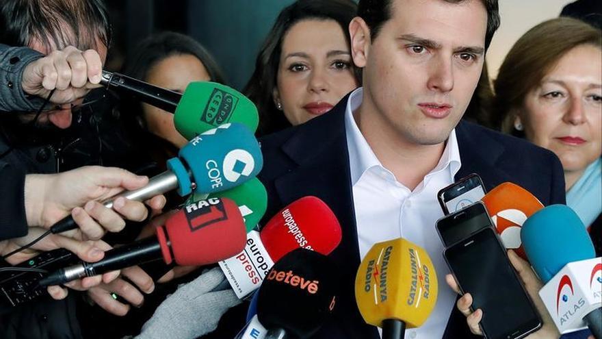 Rivera: Cs peleará hasta el último minuto para que el Parlament no vote DUI