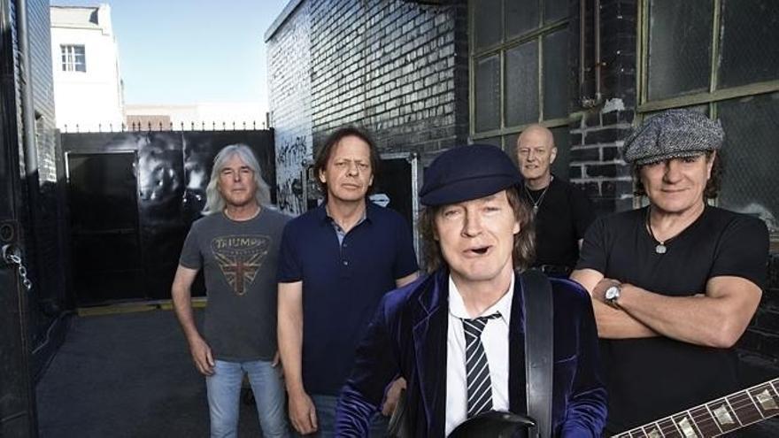 Las entradas para el concierto de AC/DC el próximo 10 de mayo salen a la venta este martes