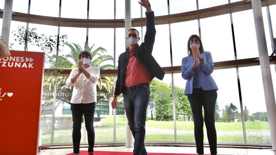 Pedro Sánchez respaldará la candidatura de Idoia Mendia este domingo en Bilbao