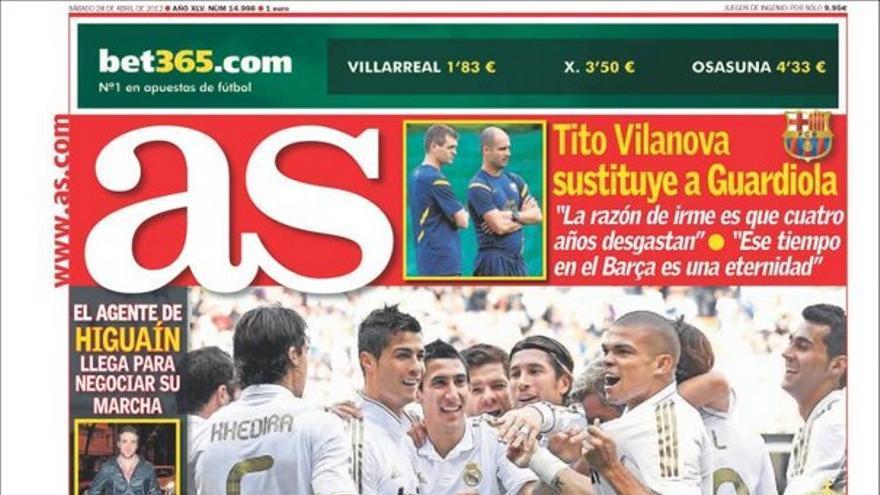 De las portadas del día (28/04/2012) #11