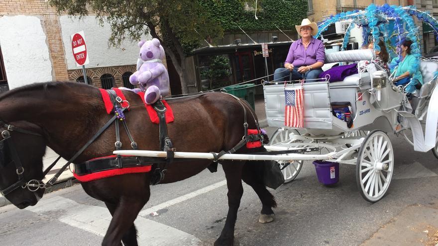 Un coche de caballos al estilo San Antonio (Juan Luis Sánchez)