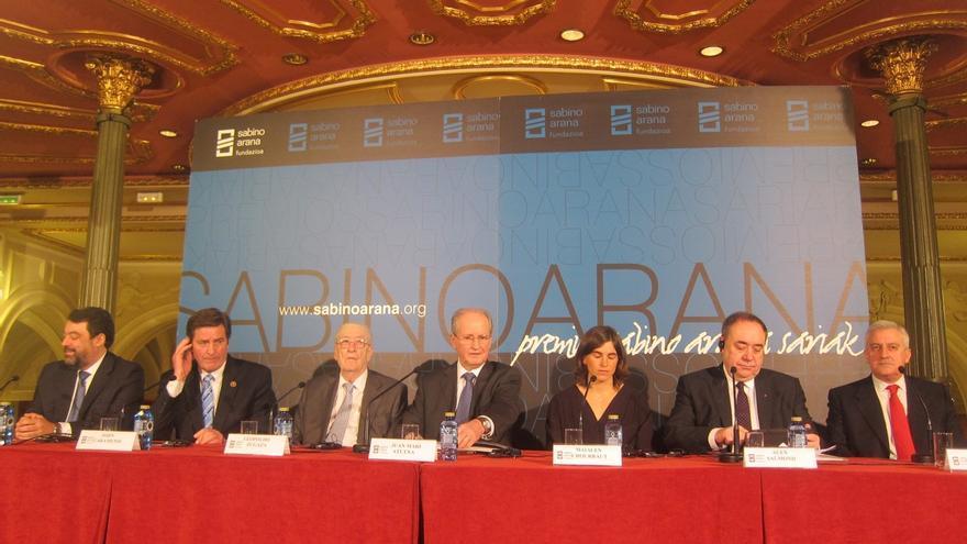 """Salmond dice que """"Euskadi no es Escocia"""" pero guardan """"similitudes"""" por el deseo """"de independencia"""""""