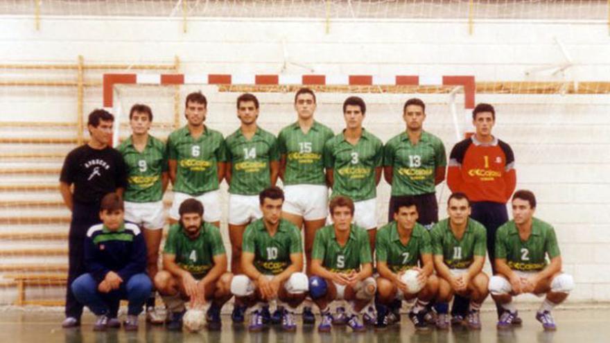 Conjunto del Cajasur Córdoba BM de la campaña 1988-89. | CÓRDOBA BM