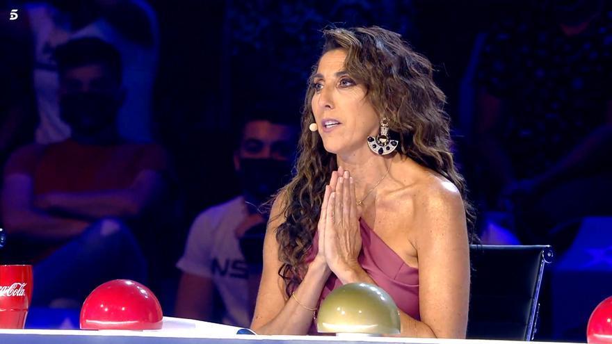 Paz Padilla volvió a 'Got Talent'