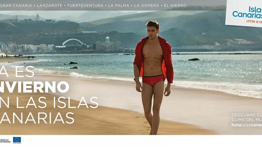 Imagen de la nueva campaña de promoción turística del Gobierno canario.
