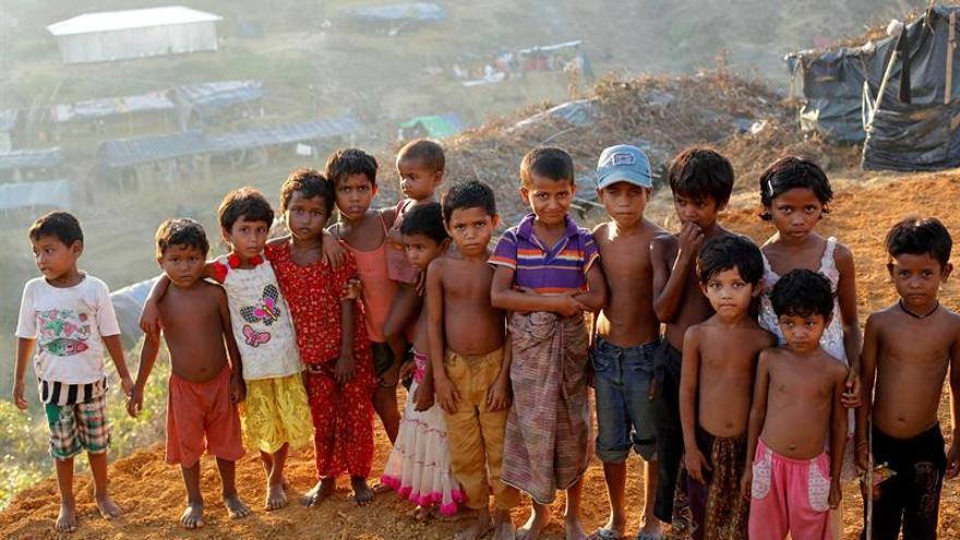 Cuarenta mil niños rohinyás en Bangladesh sufren de malnutrición severa