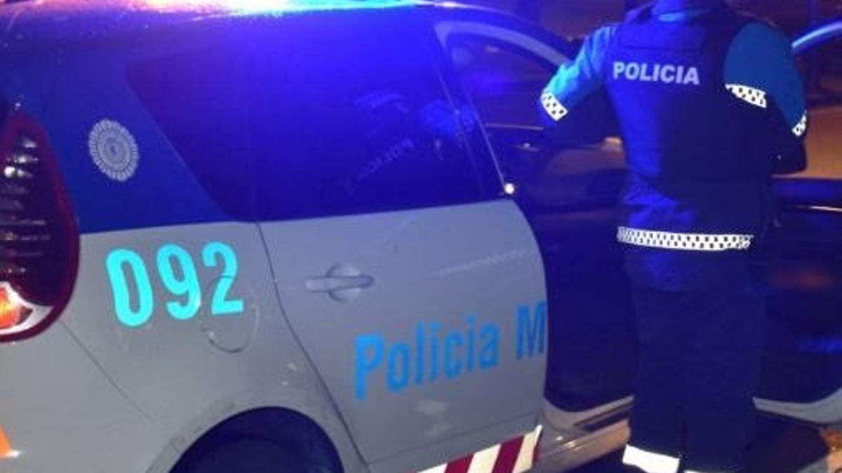 Una imagen de la policía municipal de Valladolid