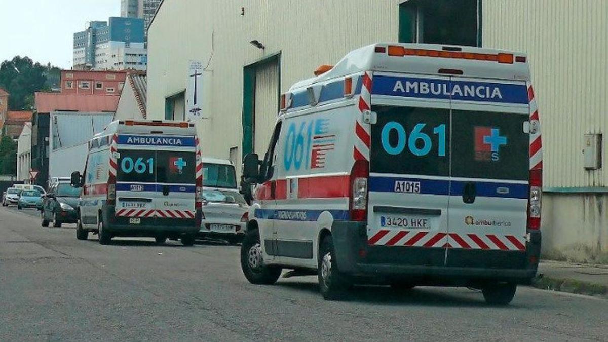 Ambulancias de Ambuibérica.
