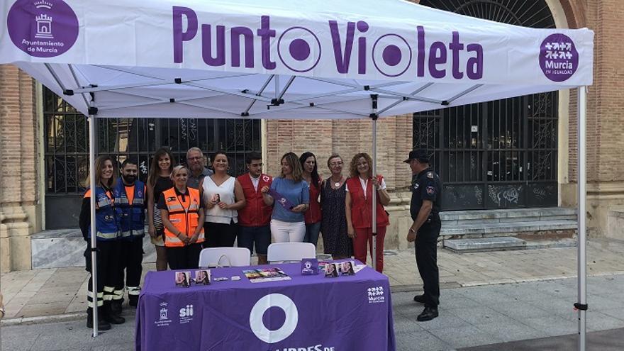 La Feria de Murcia contará con cuatro puntos violetas contra las agresiones machistas
