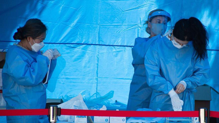 """Corea del Sur ve """"indicios de contagio"""" en una reciente manifestación en Seúl"""