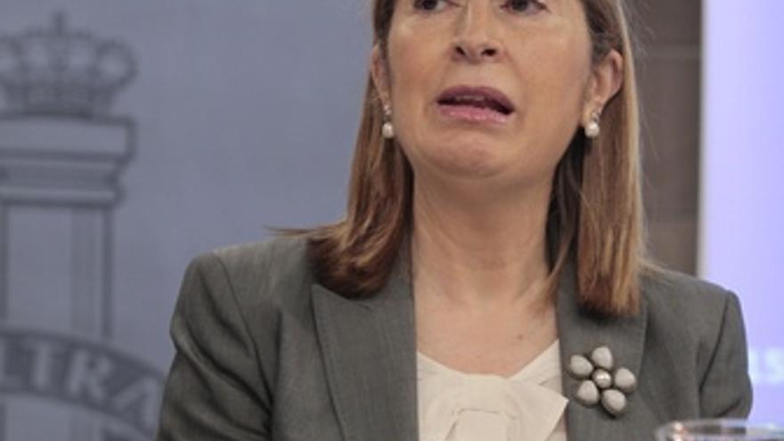La Ministra De Fomento, Ana Pastor