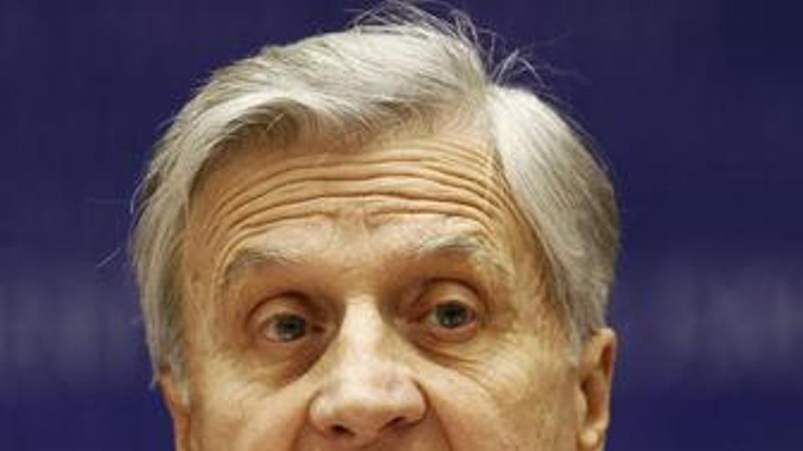 El presidente del Banco Central Europeo (BCE), Jean Claude Trichet ene l Parlame