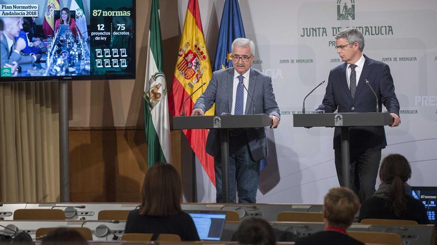 Manuel Jiménez Barrios y Juan Carlos Blanco.