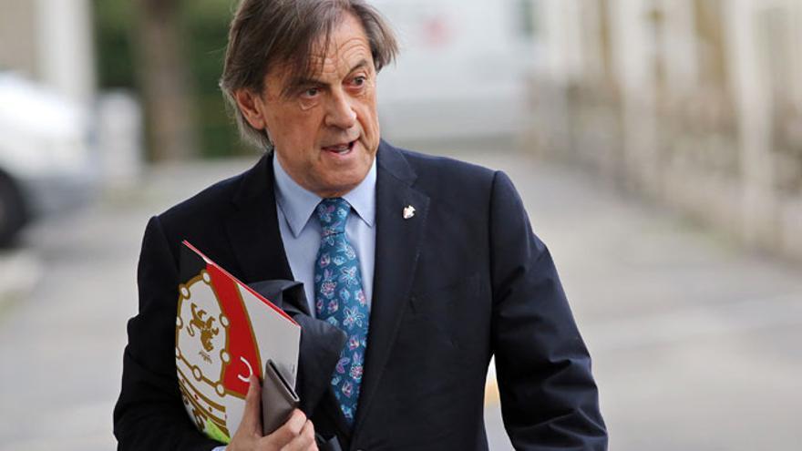 El expresidente de Osasuna, Miguel Archanco.