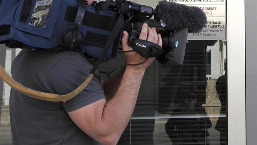 Imagen de archivo de un cámara