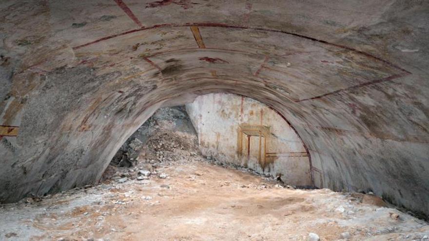 "Sale a la luz la ""Sala de la Esfinge"" de Nerón, oculta durante dos milenios"