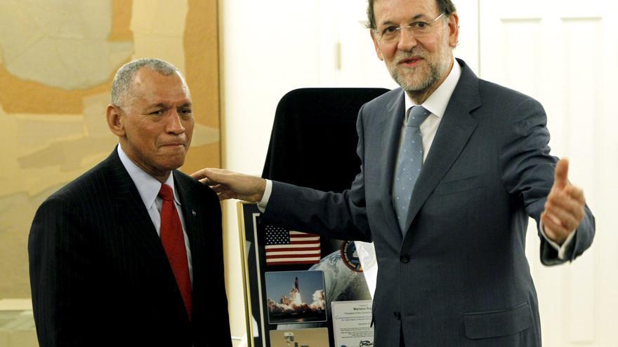 Rajoy y el responsable de NASA abordan la renovación de los acuerdos de colaboración
