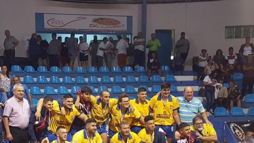 El Chimbesque celebra su éxito en la Copa Cajasiete