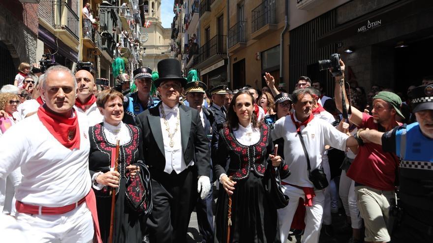 """Navarra Suma presenta una declaración en el Parlamento para condenar la """"coacción"""" a cargos públicos en Sanfermines"""