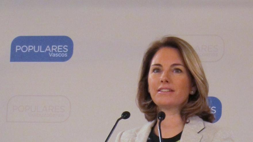 """Quiroga dice que no ha habido """"dedazo"""" al elegir Albistur, sino que ha ejercido su competencia como presidenta del PP"""