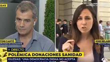 Toni Cantó llama 'chiquita' a Isa Serra, candidata de Unidas Podemos a la Comunidad de Madrid