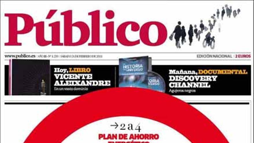 De las portadas del día (26/02/2011) #13