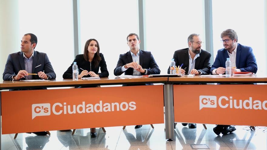La Ejecutiva nacional de Ciudadanos analizará el lunes la propuesta de su portavoz en Murcia sobre una moción de censura