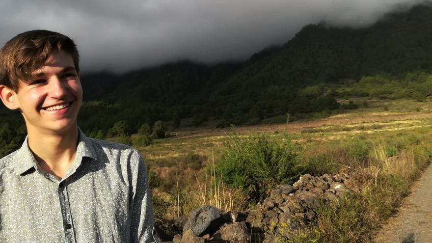 Guillermo Rodríguez Pages es alumno del IES de El Paso y activista climático.