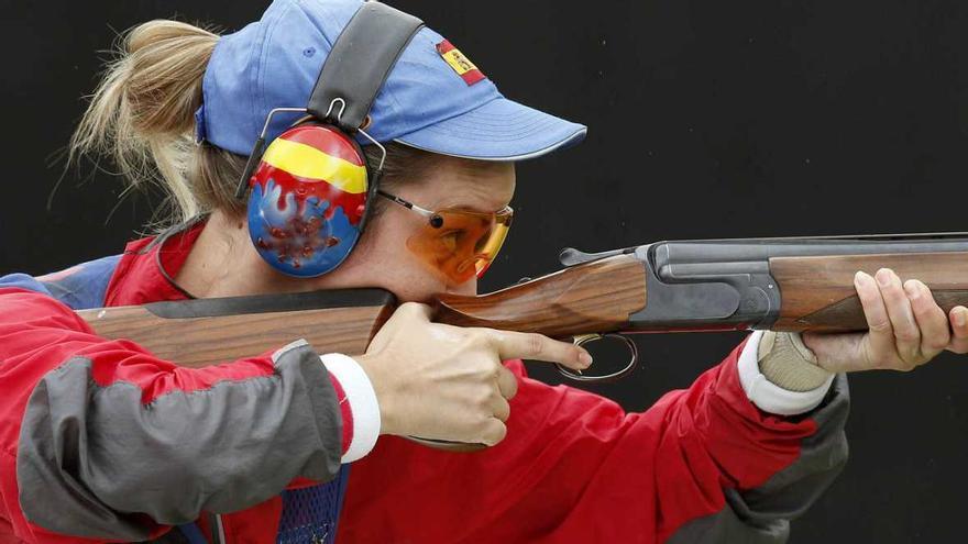 Fátima Gálvez, la gran tiradora de foso olímpico