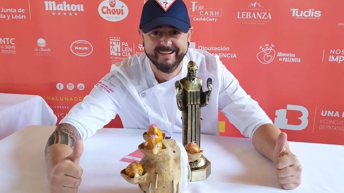 El chef Javier García, del restaurante Martina de Albacete
