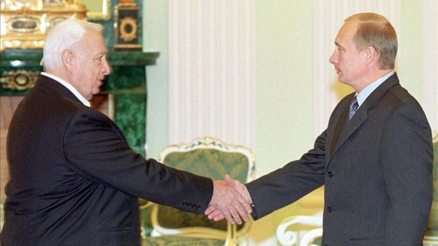 Putin recuerda la autoridad ejercida por Sharon en la escena internacional