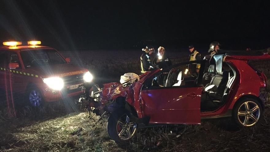Un joven de 27 años muere en un accidente de tráfico en Algete (Madrid) tras salirse su coche de la carretera