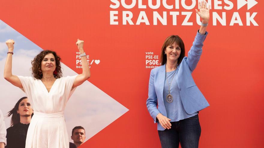 """Mendia exhibe las papeletas de la """"reconstrucción económica y social"""" de Euskadi"""