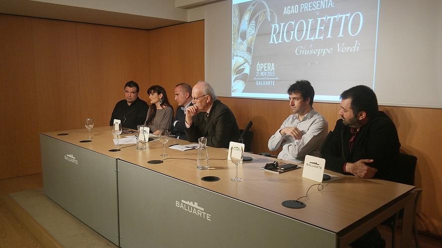AGAO representa el sábado en el Baluarte la ópera 'Rigoletto'