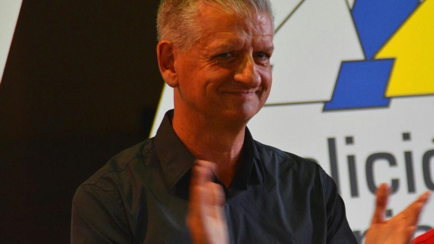 Francisco Linares, ya candidato de CC en 2019 a la Alcaldía de La Orotava