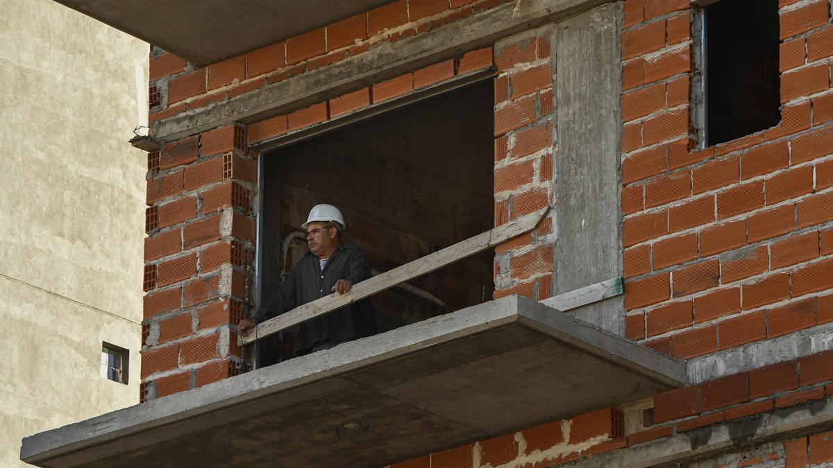 La construcción se aceleró desde diciembre pasado.
