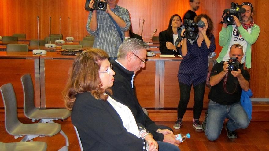 Carmen Marín, durante el juicio